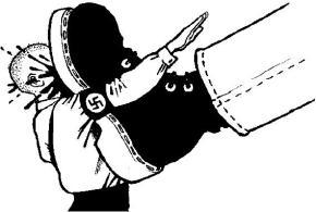 Ρόδα, τσάντα και κοπάνα στουςφασίστες